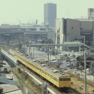 今はなき神戸港貨物線走行した103・117系