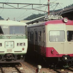 ある日の伊豆箱根鉄道内で