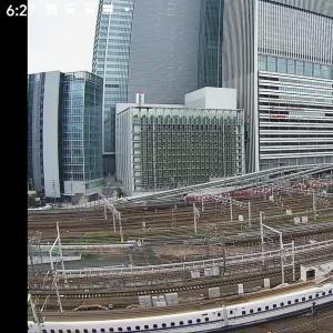 2020/7/28 6時27分 EF6627名古屋駅通過