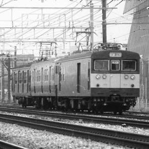 吹田工場出場試運転列車のいろいろ(約40年前撮影)