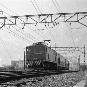 東武で活動した貨物列車 (1972年館林駅にて)