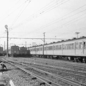 ある日の東武鉄道館林車庫にて (1972年撮影)
