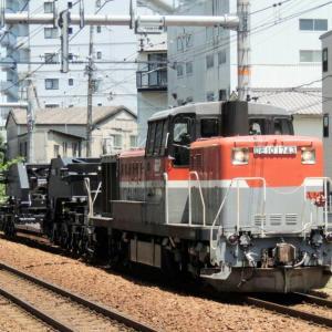 2021/6/21②  再びDE10牽引シキ850D回送