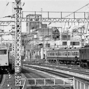 今は思い出  山手線御徒町駅での103系とEF15