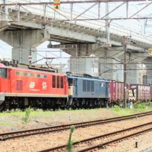 2021/7/31④  11:43   今日の2077列車はEF64ムド付