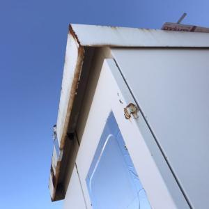 大分市内で屋根工事をしました!