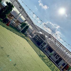 仁川港を見渡せるカフェレストラン♬
