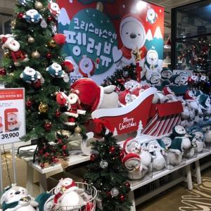 韓国でかわいいクリスマスアイテムを!