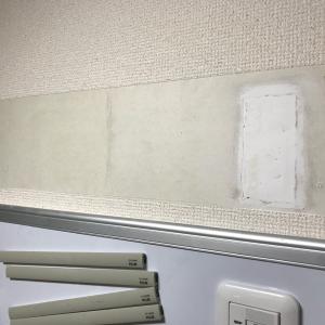 そういえば…壁紙の補修もしていました。(。+・`ω・´)キリッ