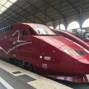 ヨーロッパの陸路移動~タリスに乗ってパリからブリュッセルへ~