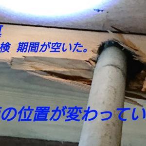 今度はガス管です。 ついでに水道管