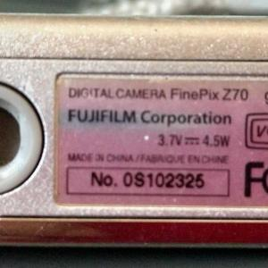 デジタルカメラ メモ