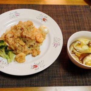 レシピがないのは・・・シーフード炒飯♪・・♪