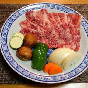 お取り寄せのお肉で焼肉に野菜は要らんで!!