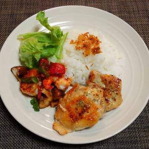 ワンプレで鶏肉が続くよ☆海老とパプリカのチリ炒め♪☆♪☆♪