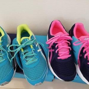 新学期準備 *運動靴とキャップ* 買い替え