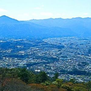 武甲山と秩父市街をながめる…「あるきんぐ&のぼりんぐ」美の山体験ハイク・秩父鉄道
