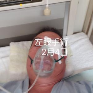 2月3日~15日眼科入院