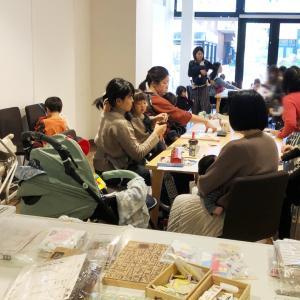 年賀状作りは今のうち♪2日間で18人ママが参加、そのうち10人以上が年賀状作り!!