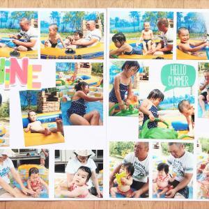 感染症対策をして開催しているアルバムラボ・今日はBRANCH神戸学園都市!
