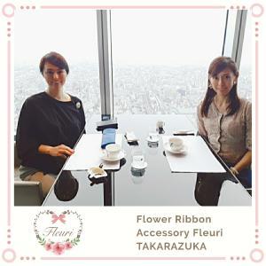 日本一の高層レストランZKへ