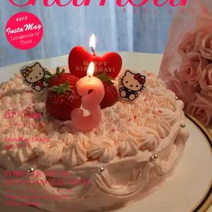 クリスマスケーキのデザインのサンプル♡