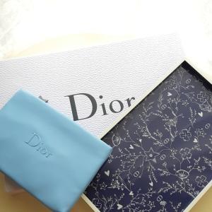 Diorのノベルティ ブルー編♡