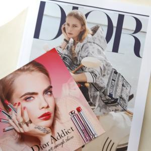 Diorの新しいノベルティの案内♡