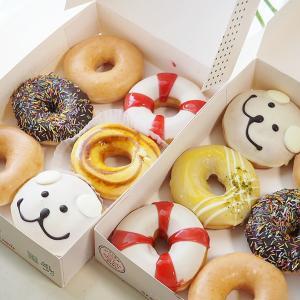 クリスピークリームの夏のドーナツ♡