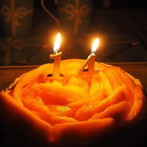 14歳の誕生日♡