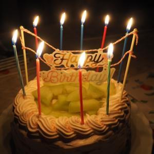 9歳のお誕生日ケーキ♡