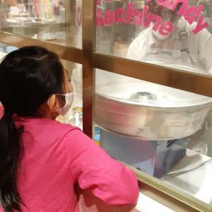 新宿伊勢丹で可愛い綿菓子♡