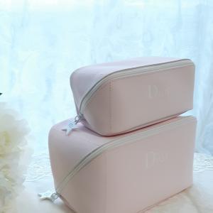 Diorのポーチの変わった活用法♡