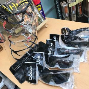スタイリッシュ防曇保護メガネ『ボレーセーフティ』入荷しました。
