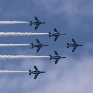 ブルーインパルス 6機体制