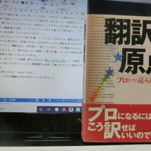「もしもアインシュタインが翻訳家だったら 第III部 情報量が翻訳の宇宙を支配する」 脱稿間近