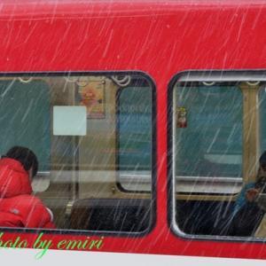 雪から雨に