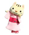 こにゃん/滋賀県湖南市の着物が似合う猫のキャラクター