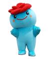 ごかりん/茨城県五霞町のイメージキャラクターは水の妖精