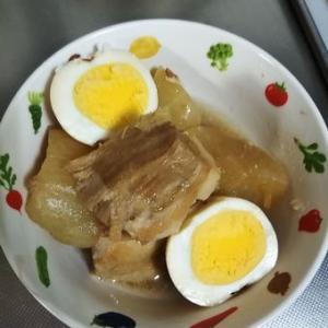 ひっさしぶりに作った豚の角煮