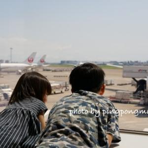 夏の思い出@北海道へGO♫はじめての飛行機はドキドキなのだ♡
