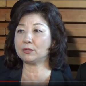 ダメだよ、日本のマスゴミが必死になって隠して来た核心部分をバラしちゃ 〜 【朝鮮日報】韓国系の夫持つ野田聖子幹事長代行が出馬表明…自民党総裁選は四つどもえ