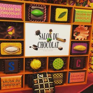 SALON DU CHOCOLATへ行ってきました♪