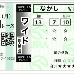 朝日杯セントライト記念 予想結果(2021年9月20日)