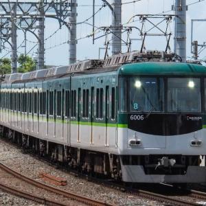 気軽に撮影、京阪電車