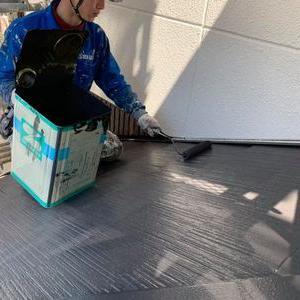 熊本県熊本市中央区国府本町 屋根塗装工事(日報) 今日は熊本地震の日か・。・・・