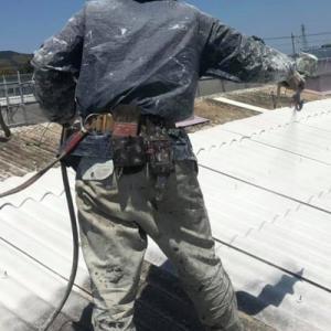オロナミンCを頂き!屋根塗装(遮熱)頑張るぞ!