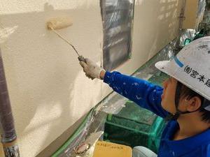 熊本県益城町住宅外壁塗装工事 シリコン仕上げ
