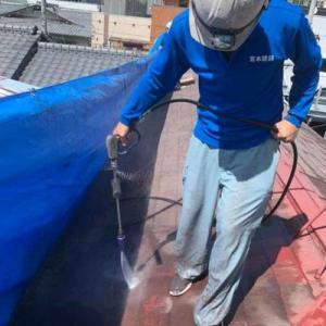コロニアル屋根塗装工事 (熊本市中央区古大工町)パート2