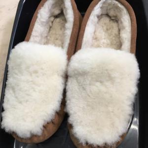 フワフワのムートン靴